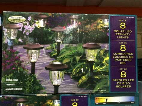 Naturally Solar Pathway Lights Costco Solar Pathway Naturally Solar Pathway Lights Costco