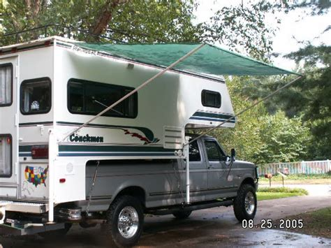 awning for truck rv net open roads forum truck cers stretch s awning