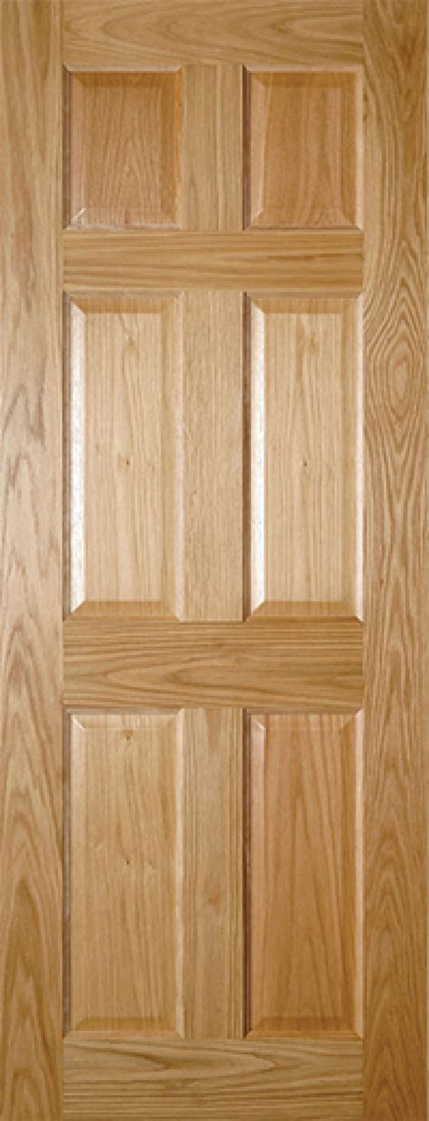 Prefinished Interior Wood Doors by Oxford 6 Panel Oak Door Prefinished Oak Doors Vibrant