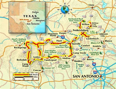 texas hill country motorcycle rides map meandering the texas hill country rider magazine rider magazine