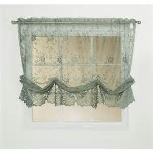 Shari Lace Curtains Commonwealth Home Fashions Shari Balloon Curtain Panel 55x63 Quot Lace Save 67