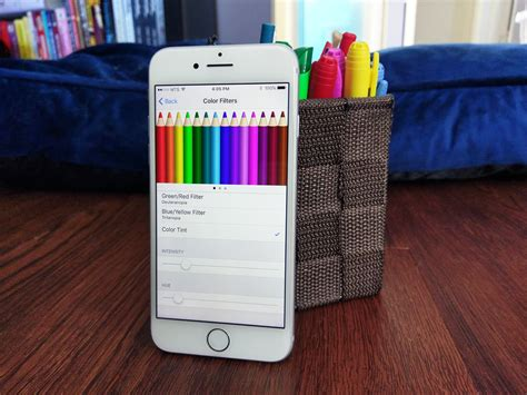 iphone 5s color change how to use display accommodations and color filters on
