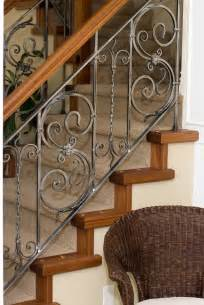Metal Banisters And Railings Wrought Iron Stair Railing Iron Railings Pinterest