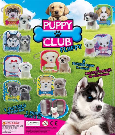 puppy club puppy club 50mm capsules toyvend supplier of quality vending machines