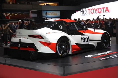 toyota supra side view photos cars of the 2018 geneva auto show motor trend canada