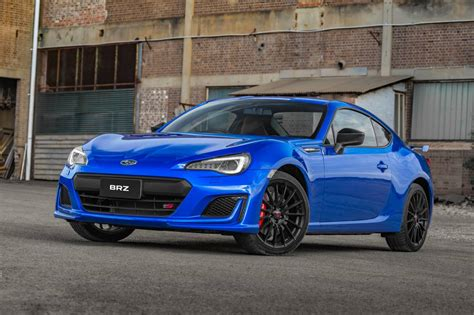 car subaru brz subaru brz ts launched as range topper with sti