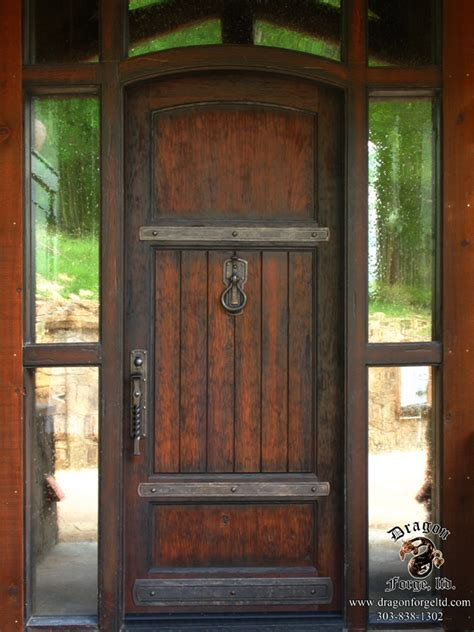 Front Doors Styles American Craftsman Style Front Door Hardware 16 Forge Colorado Blacksmith Custom
