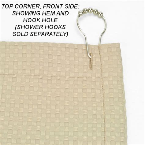 waffle shower curtain extra long heavy weight fabric shower curtains extra long 72x78