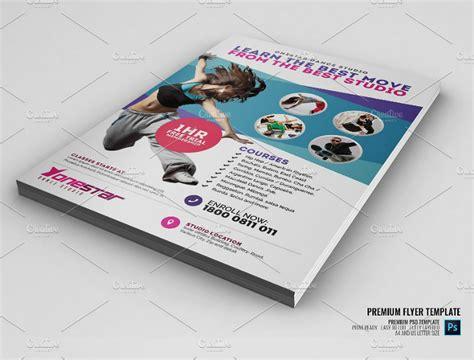 15 Dance Studio Flyer Designs Templates Psd Ai Free Premium Templates Studio Flyer Template