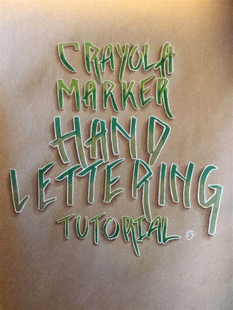 typography graffiti tutorial liliflora pretty crayola marker graffiti style lettering