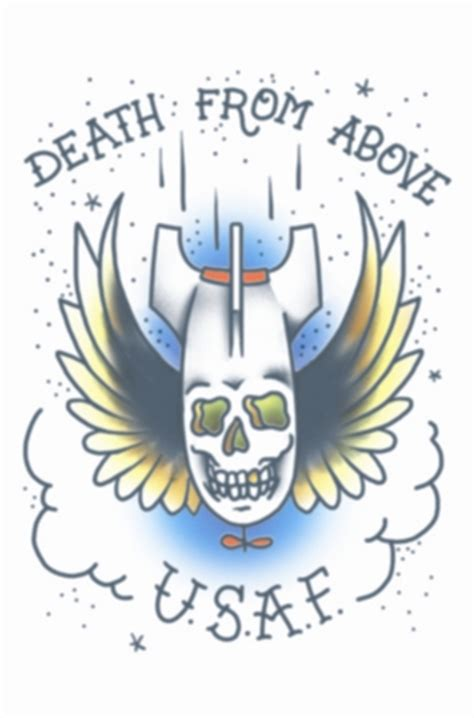 death from above tattoo from above usaf tattooforaweek temporary tattoos