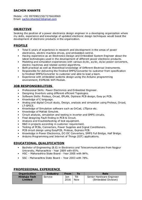 sle resume objectives for electronics engineering electronics engineering resume krida info