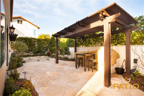 elitewood lattice patio covers traditional patio