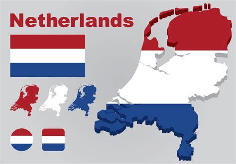 netherlands map eps netherlands map vector free