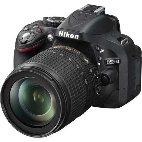 nikon d5200 slr nikon d5200 dslr with 18 105mm lens 13216 black
