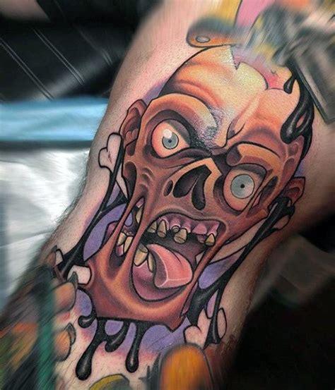tattoo new school zombie new school zombie tattoos www pixshark com images