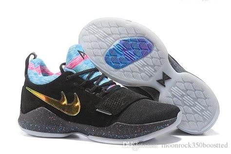 Sepatu Basket Nike Paul George Pg 1 Ivory 1 paul george pg 1 eybl low basketball sport shoes brand i army green glacier grey ivory