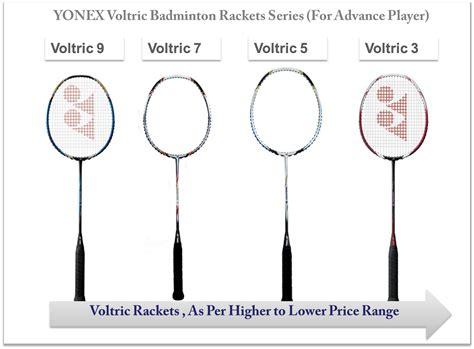 Raket Badminton Li Ning Series Ss78 G5 Killer Facts On Yonex Voltric Badminton Rackets Series