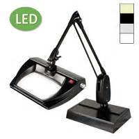 Dazor Magnifying L by Dazor Led Stretchview Desk Base Magnifier L 33 In