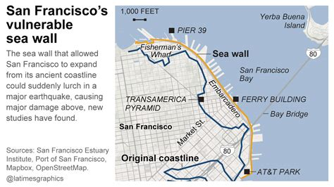 san francisco map pre 1989 it could cost 3 billion to prevent disastrous earthquake