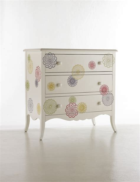 whimsical flowered chest chests