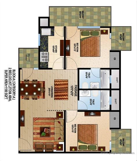 flat plan quantum homes raj nagar ghaziabad apartment flat