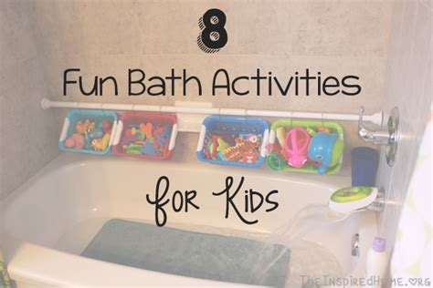 bathtub games 8 fun bath activities for kids the inspired home