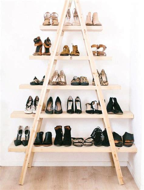shoe display storage 28 creative shoe storage ideas that won t take much space