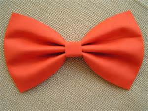 fabric bows orange color fabric hair bow for by clipabowboutique on etsy