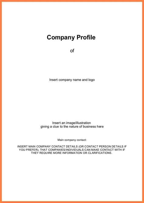 8 exles of company profile template company letterhead 8 sle of company profile letter company letterhead