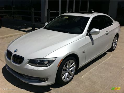 Gray Interior Paint 2011 Mineral White Metallic Bmw 3 Series 328i Xdrive Coupe