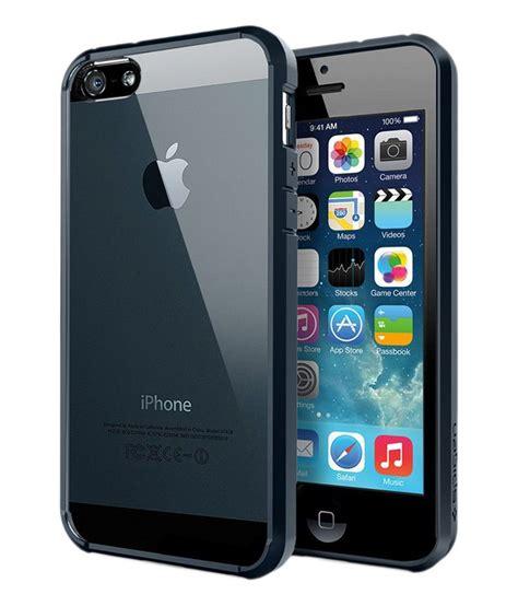 Spigen Iphone 5 5s 1 spigen iphone se 5s 5 back ultra hybrid metal slate