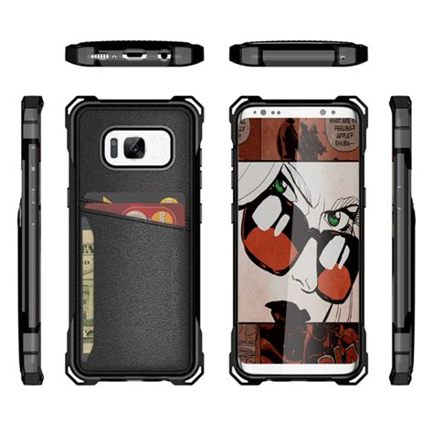 Iphone 66s Plus Armor Bumper Leather Dompet Sarung Flip Stand galaxy s8 wallet ghostek exec black series slim