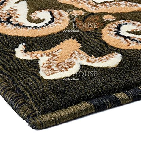 Olefin Pile Rug by Cosy House Traditional Runner Rugs For Indoors Out Plush High Pile Olefin Polypropylene