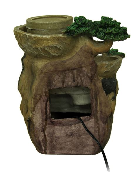 the watering tree decorative tabletop water fountain with