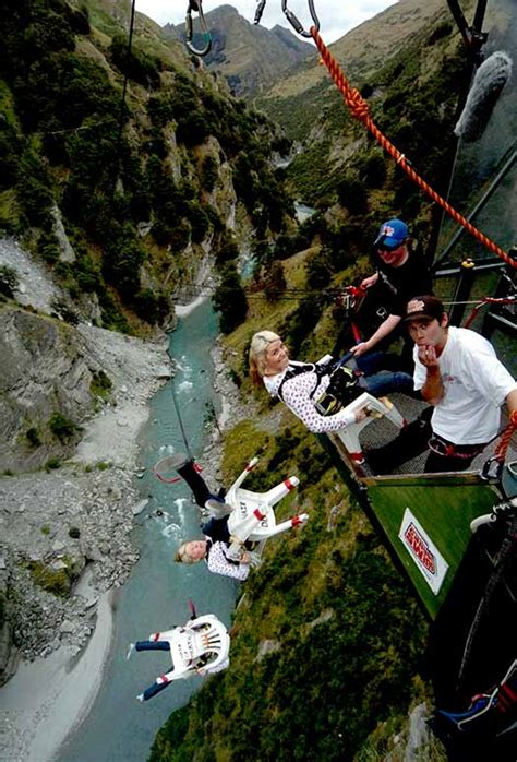 canyon swing new zealand fancy doing a canyon swing in new zealand cheapflights