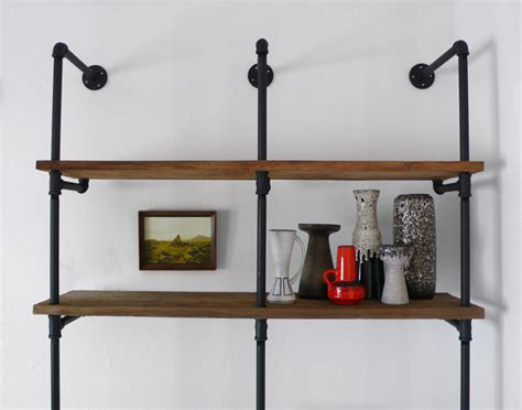 diy reclaimed wood and pipe shelving unit 171 hindsvik at