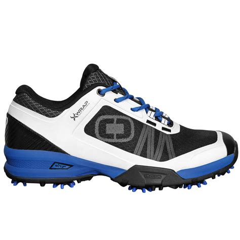 ogio sport spiked golf shoes white blue size 12 new ebay