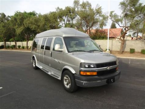 find used chevy 9 passenger conversion in fresno
