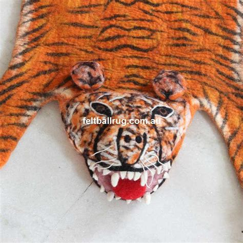 tiger floor rug animal floor rug tiger children room woolen children handmade non toxic ebay