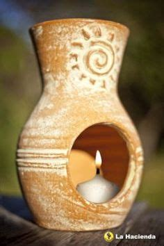 Mini Clay Chiminea Chimineas On Clay Summer Barbecue And Candle