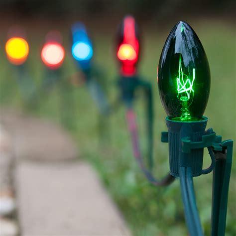 lights c9 multicolor pathway lights