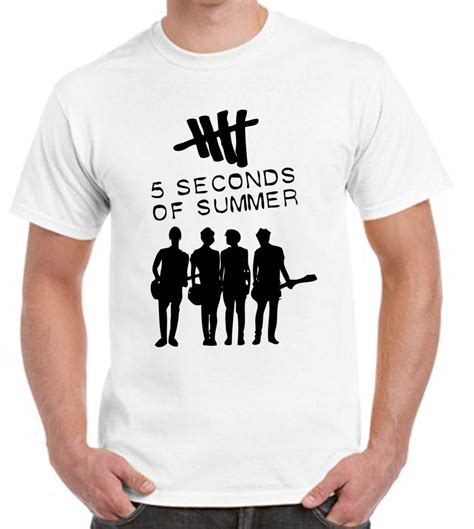 Tshirt 5 Second Of Summer 6 5 seconds of summer t shirt from teee shop tshirts