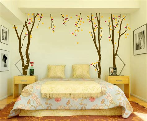 wall decoration ideas for bedrooms angelic bedroom with lavish furniture of bed between