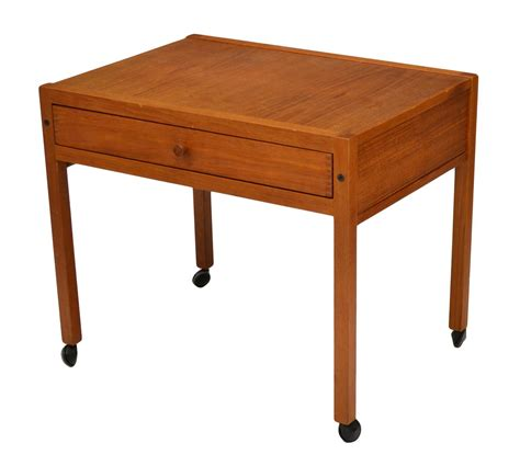 mid century modern work table mid century modern rolling work table important