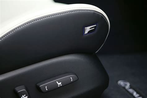 lexus isf seats 2014 lexus is f interior photo seat f badge seat
