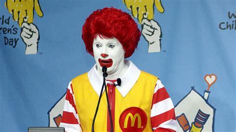 ronald donald mcdonald s ceo to food ronald mcdonald cbs news