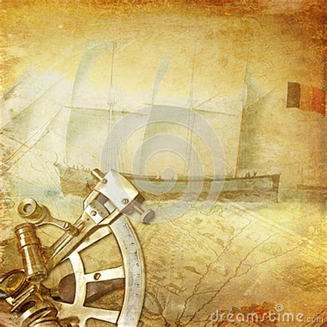 vintage nautical background stock image image