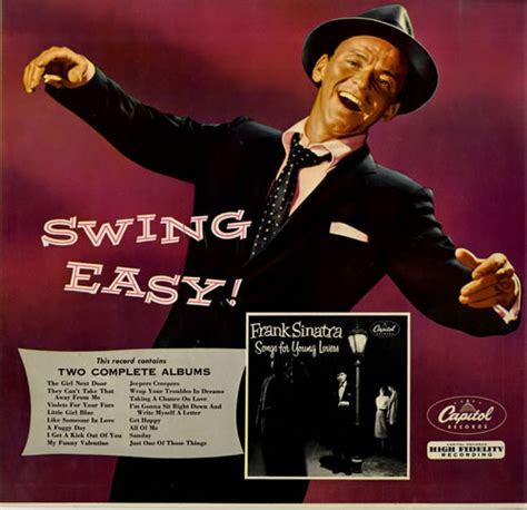frank sinatra swing songs frank sinatra swing easy and songs for young lovers uk