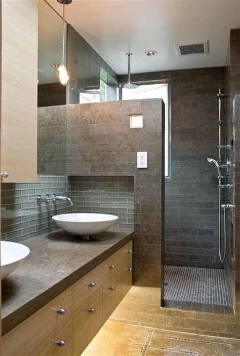 modern bathroom decorating ideas a modern and cozy family home contemporary bathroom